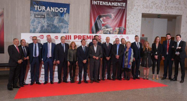 AJE Canarias reúne a todo el sector empresarial en la entrega de los III Premios Joven Empresario 2019